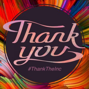 A 'thank you' graphic to recognize Corning Incorporated